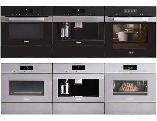 现代, 烤箱, 消毒柜, 单体
