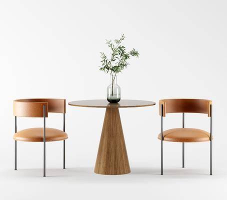 北欧, 单椅, 实木椅, 椅子