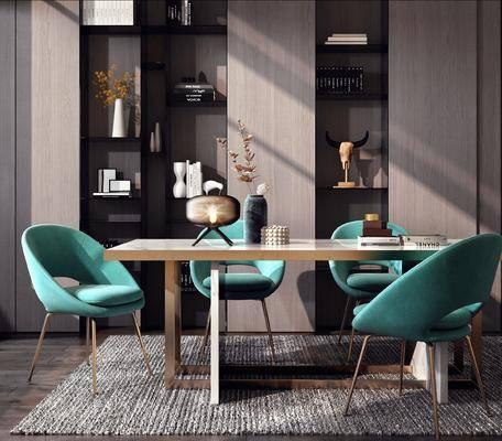 餐桌, 桌椅组合, 花瓶