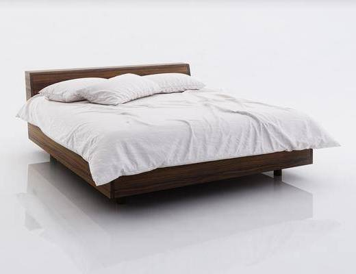 双人床, 单人床, 现代