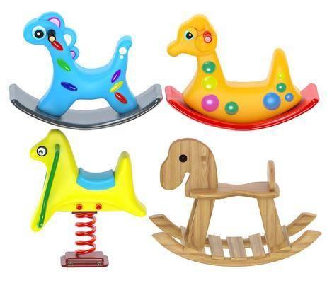 摇椅, 儿童玩具, 木马