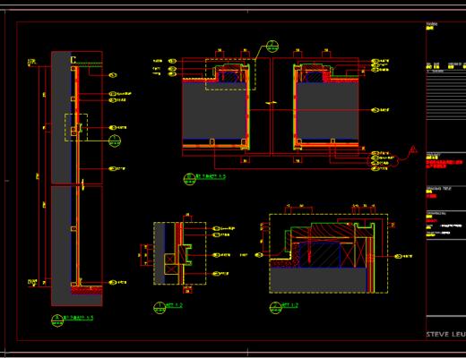 CAD施工图, 家装, 平面图, 立面图, 大师