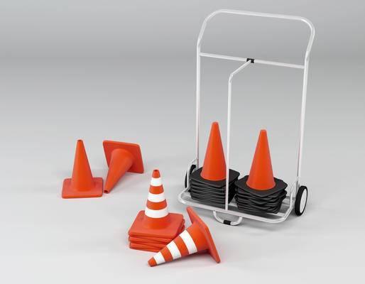 现代, 雪糕筒, 安全设备, 路障