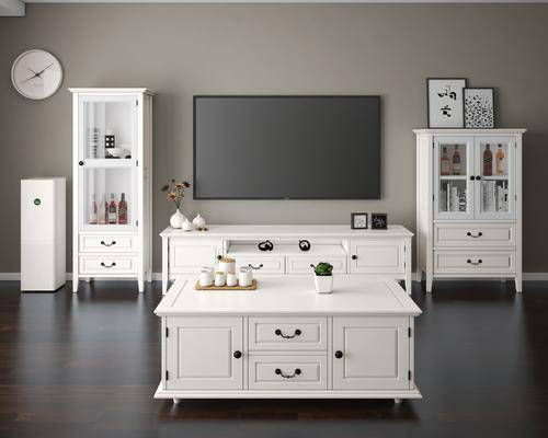 电视柜, 边柜, 茶几, 装饰柜, 陈设品, 摆件, 现代, 简欧, 田园