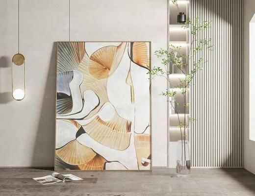 现代玄关挂画装饰画