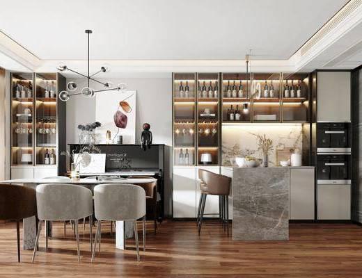 家装, 现代餐厅