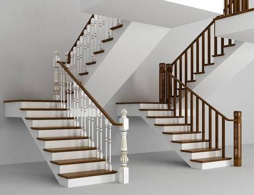 楼梯组合, 欧式