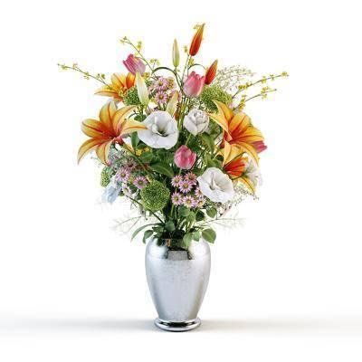 花瓶, 花盆, 花卉, 装饰花, 现代