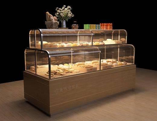现代, 面包, 面包柜