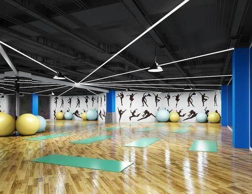 健身房, 健身器械