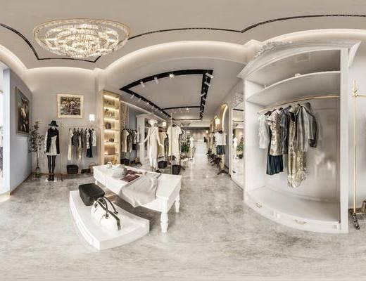 现代女装店, 工装