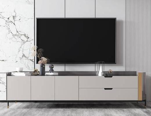 现代, 电视柜, 柜架