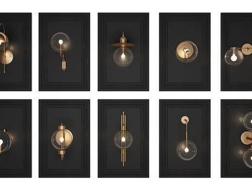壁灯, 现代壁灯, 金属, 金属壁灯, 现代