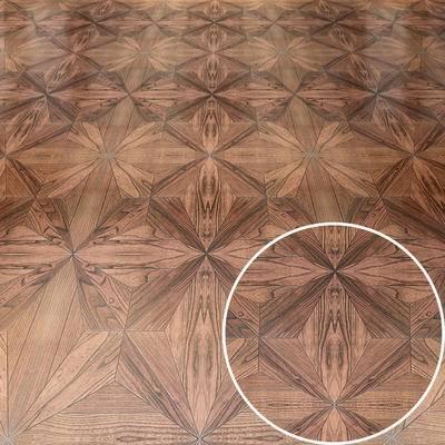 木拼花, 木板, 地板