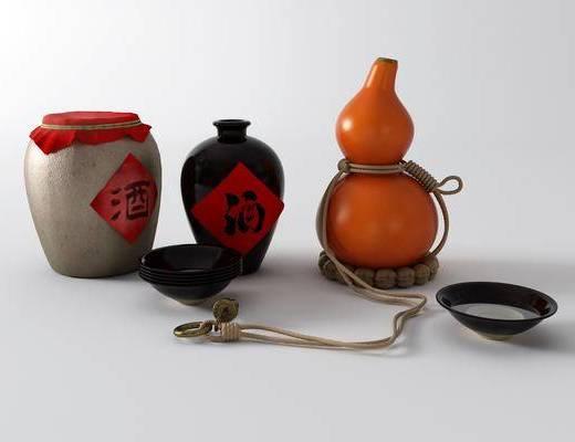 中式酒坛, 葫芦