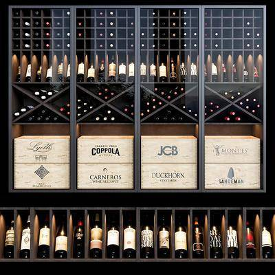 现代红酒柜