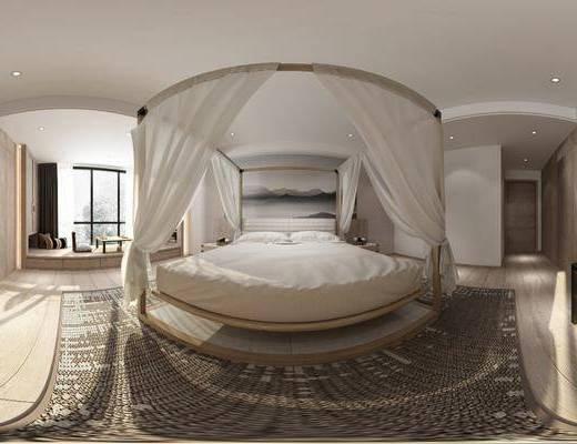 日式卧室, 卧室