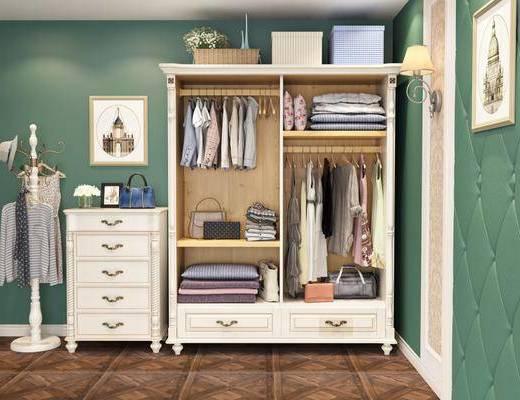 衣柜, 美式衣柜