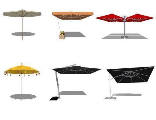 太阳伞, 遮阳棚