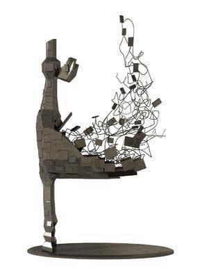 现代, 金属, 装饰品, 组合