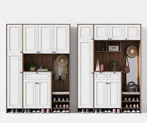 鞋柜, 现代鞋柜, 衣柜