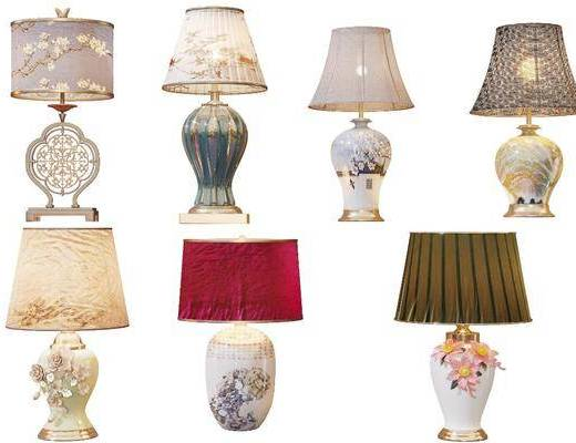 新中式台灯, 台灯, 中式台灯