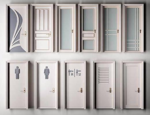 烤漆门, 房门, 平开门, 现代平开门