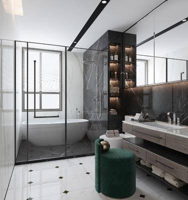 衛生間, 衛浴組合, 洗浴組合