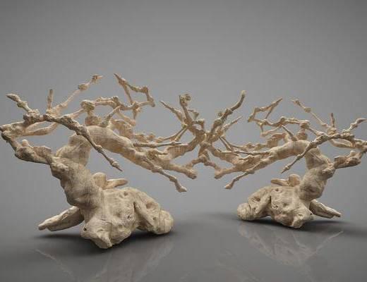 树木, 摆件组合