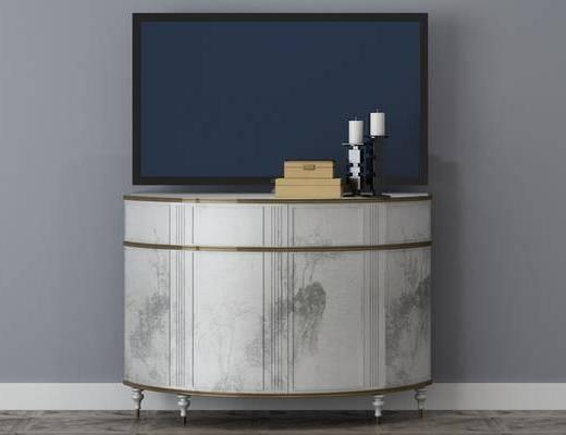 电视柜, 柜架组合, 摆件组合