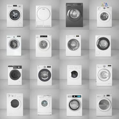 洗衣机, 洗浴组合