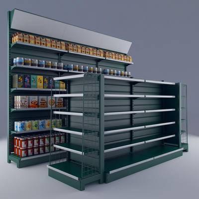 日式货架, 超市货架, 货架, 商品货架, 售货架