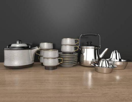 厨具组合, 陶瓷, 器皿
