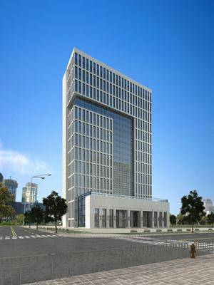 办公楼, 建筑, 现代