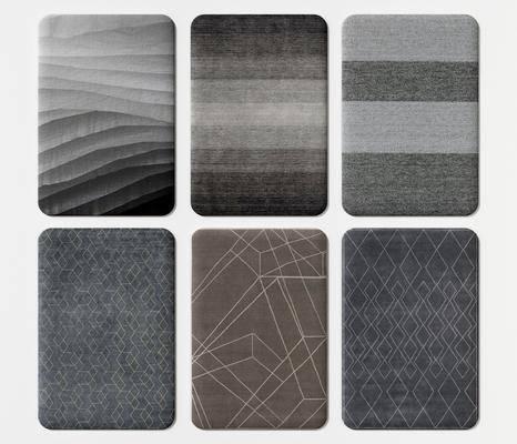 新中式, 方地毯, �M合