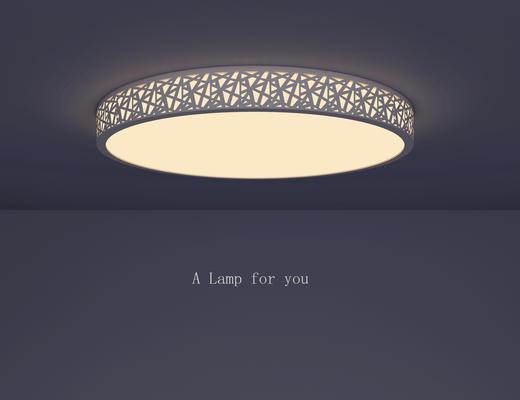 现代吸顶灯, 圆形吸顶灯