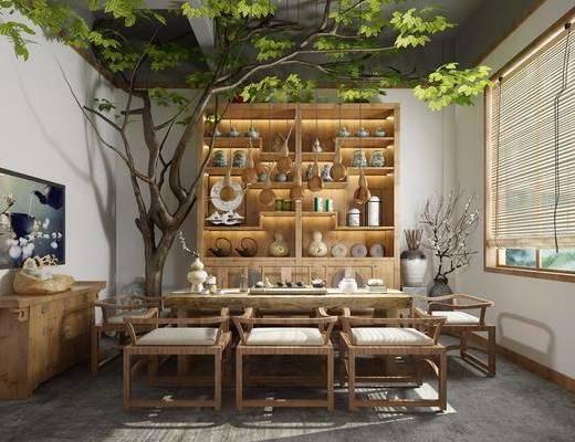 茶室, 茶馆, 中式茶室