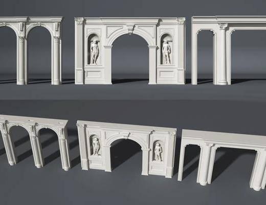 欧式门洞, 门洞, 门拱