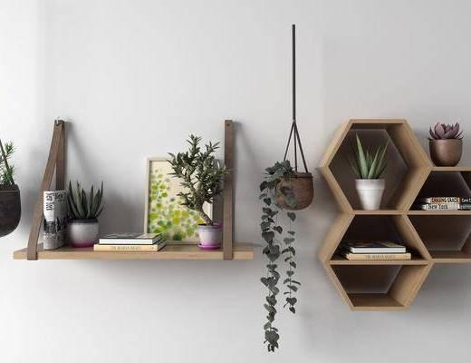 挂件, 盆栽, 装饰柜架, 吊架