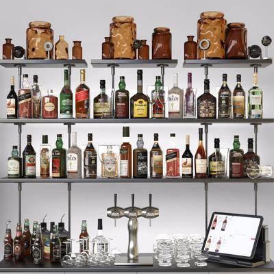 酒瓶, 酒水, 饮料