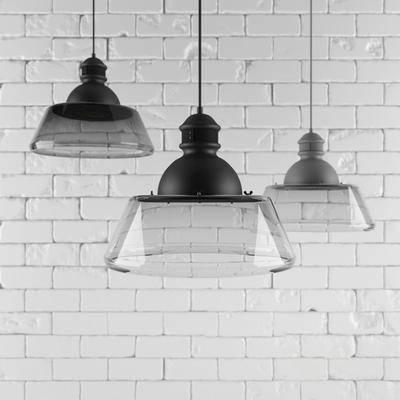 吊灯, 玻璃, 塑料, 现代