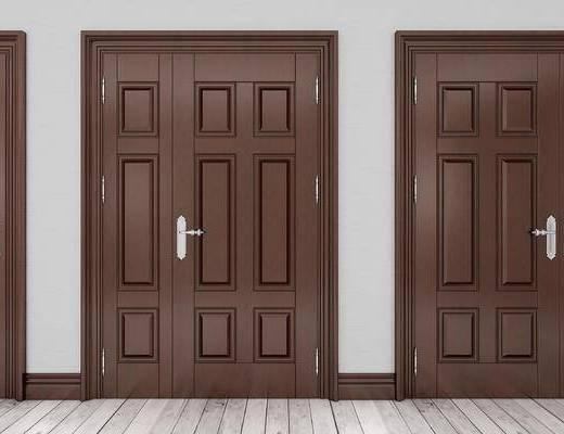 欧式, 双开门, 子母门, 大门, 防盗门, 门