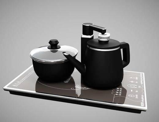 茶具, 茶壶, 烧水壶