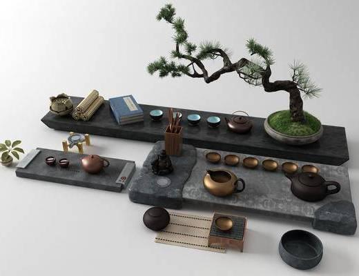 茶具, 茶盘, 茶具组合
