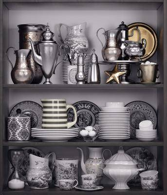 餐具, 厨具, 摆件