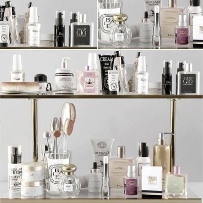 化妆品, 摆件组合, 化妆品组合