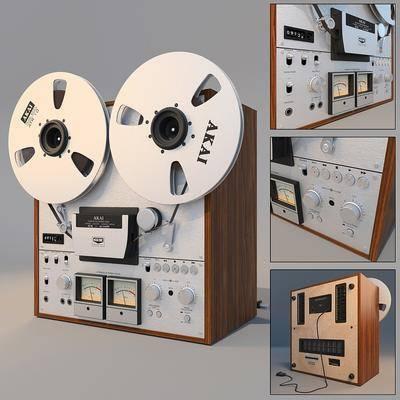 娱乐电器, 复古, 开盘机, 音乐, 现代