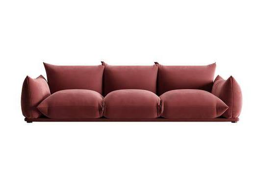现代沙发, 布艺沙发