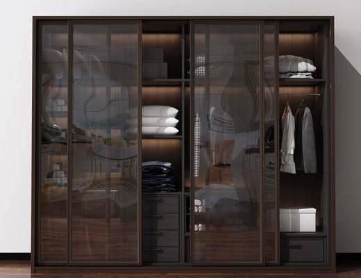 衣柜, 现代, 现代衣柜, 衣服
