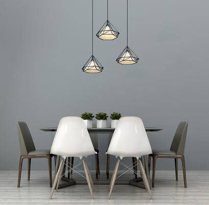现代餐桌, 现代餐桌椅组合, 木质餐桌, 餐桌装饰, 个性餐桌, 吊灯, 北欧餐桌, 现代